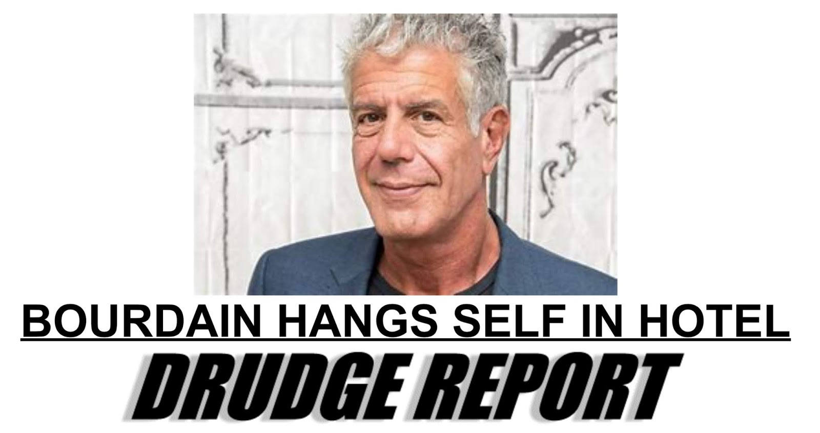 Althouse: Anthony Bourdain has killed himself!