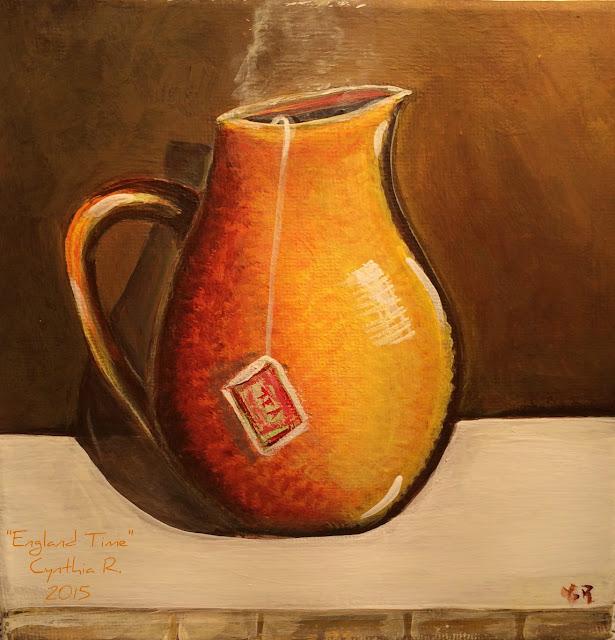 La hora del té, Cynthia R. Arte don y pasión
