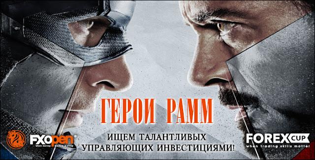 Конкурс FxOpen Герои ПАММ