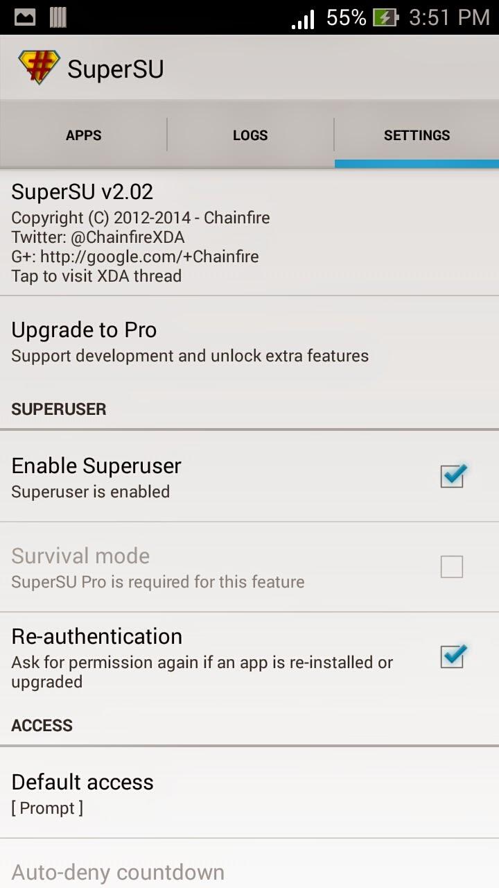 Rooting Zenfone 5 Kitkat V2 Screenshot 13