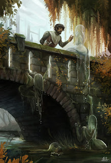 dude being seduced by a river