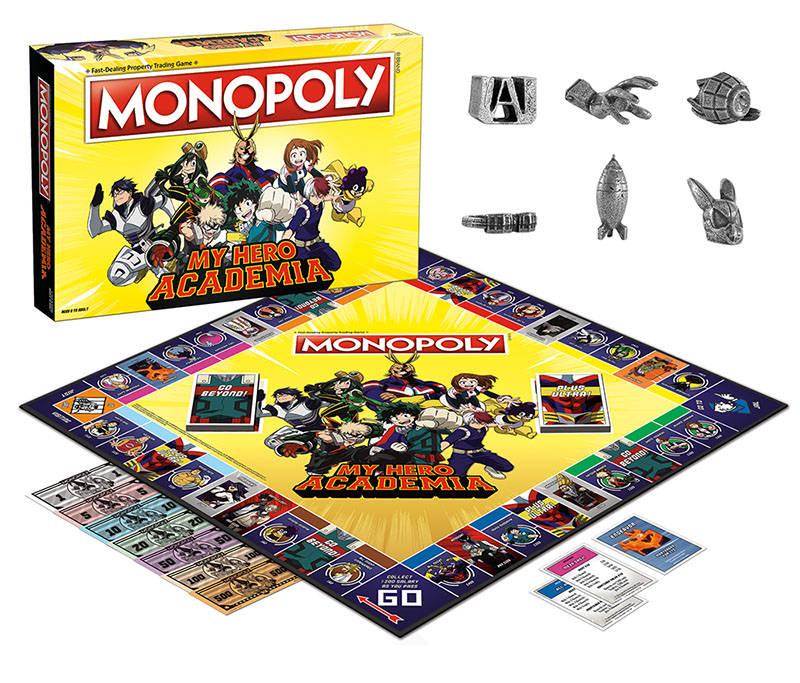Gra planszowa Monopoly My Hero Academia
