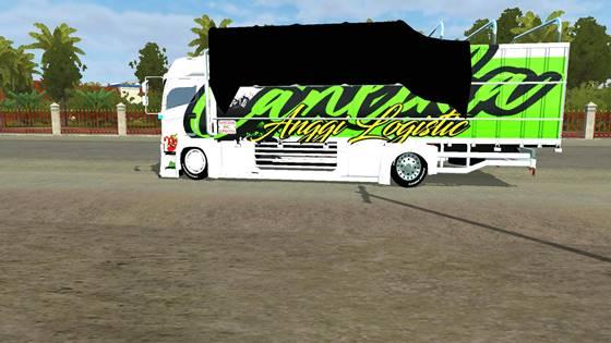 mod bussid truck hino 500 c2 full anim 2
