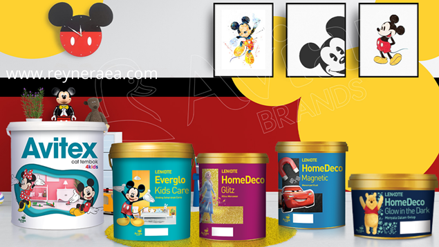 Produk Cat Disney Dari Avian Brands