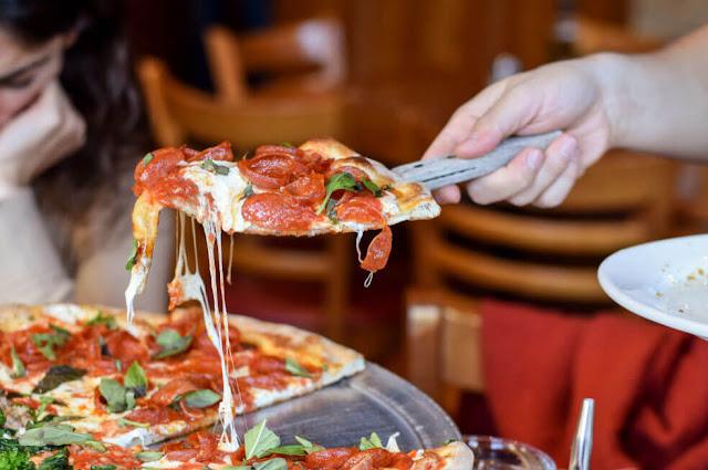 Pizza en Nueva York