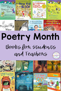 With April being National Poetry Month, teachers should be on the lookout to identify some of the best anthologies and picture books to share in the classroom. This blog post contains 24 books, plus links to more, and a FREE downloadable guide. This way you always have the list at your fingertips. This list is best for primary and upper elementary teachers, teaching grades Kindergarten, first grade, second grade, third grade, fourth grade, and fifth grade.
