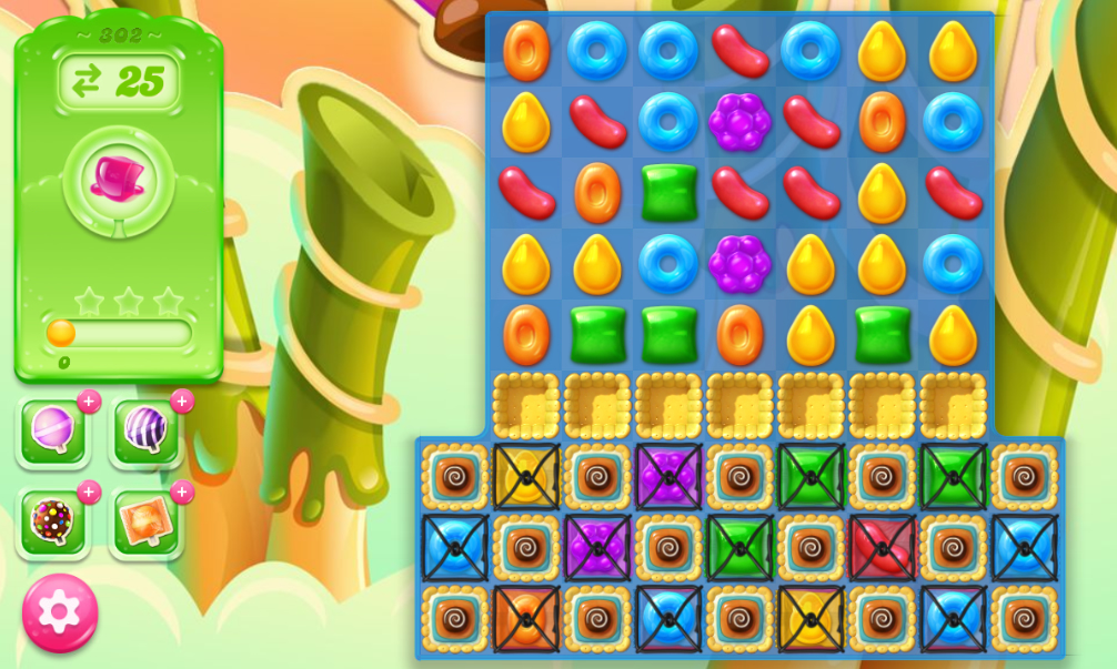 Candy Crush Jelly Saga 302
