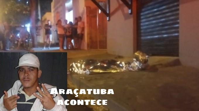 Homem é assassinado a tiros no bairro Alvorada em Araçatuba
