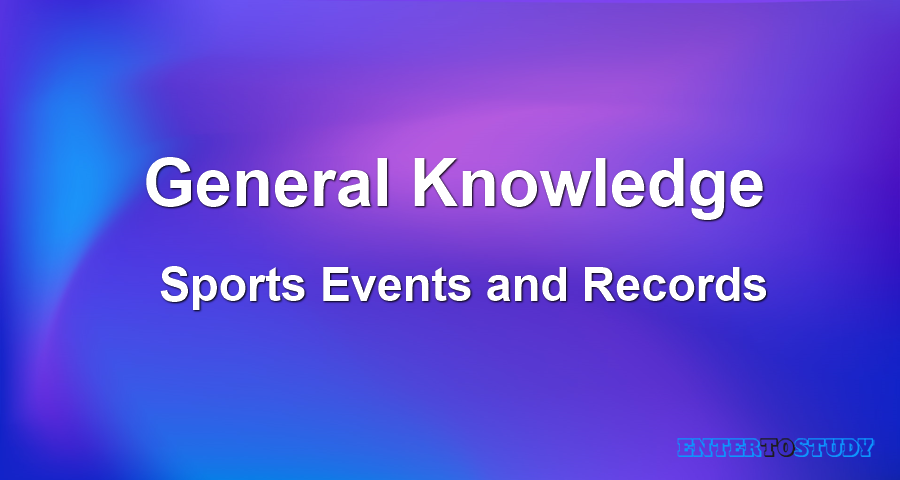 General Knowledge - Sports