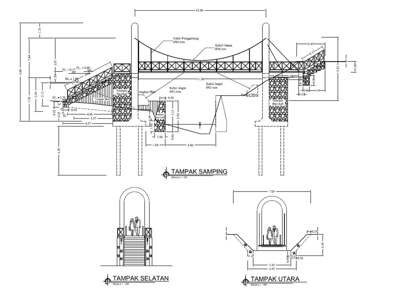 Desain dan Karya Bidang Teknik Sipil: Jembatan ...
