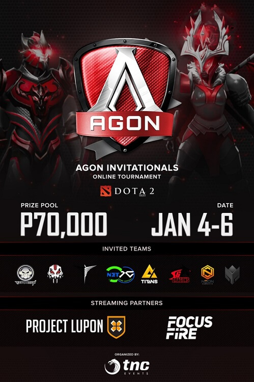 AGON Kicks Off Dota 2 Invitationals