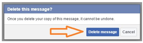 how to delete facebook messages from both sides