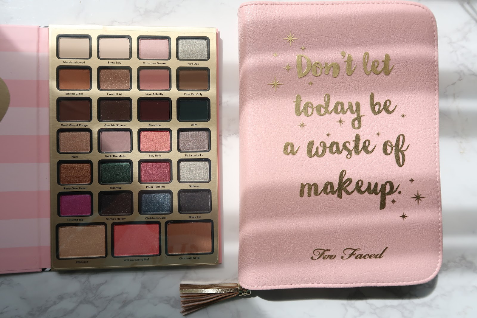 Too Faced Boss Lady Beauty Agenda Review Hertraveloguecom