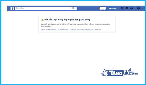 facebook khoa tinh nang load page