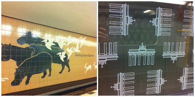 U-Bahn em Berlim