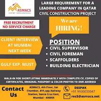 Civil Construction Project Free Recruitment