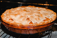 No. 003 - Apple Raisin Rhubarb Pie