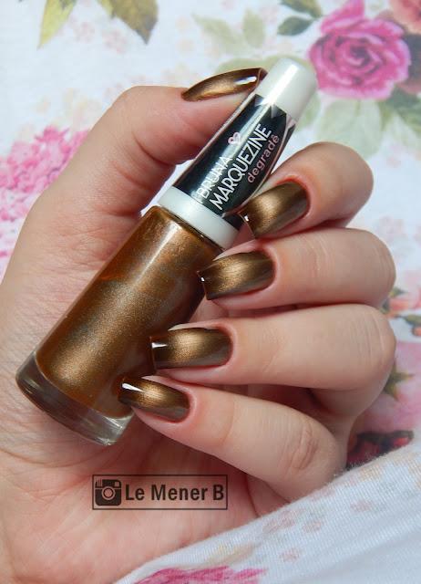 esmalte gold black