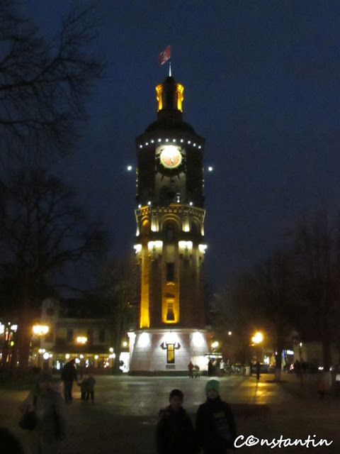 Simbolul orasului Vinnitsa - Turnul de apã din parcul Kozytsky - blog Foto-Ideea