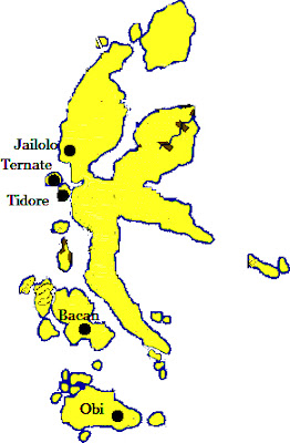 Letak Kerajaan Ternate : letak, kerajaan, ternate, Sejarah, Kerajaan, Islam, Maluku, (Ternate, Tidore), Materi, Belajar