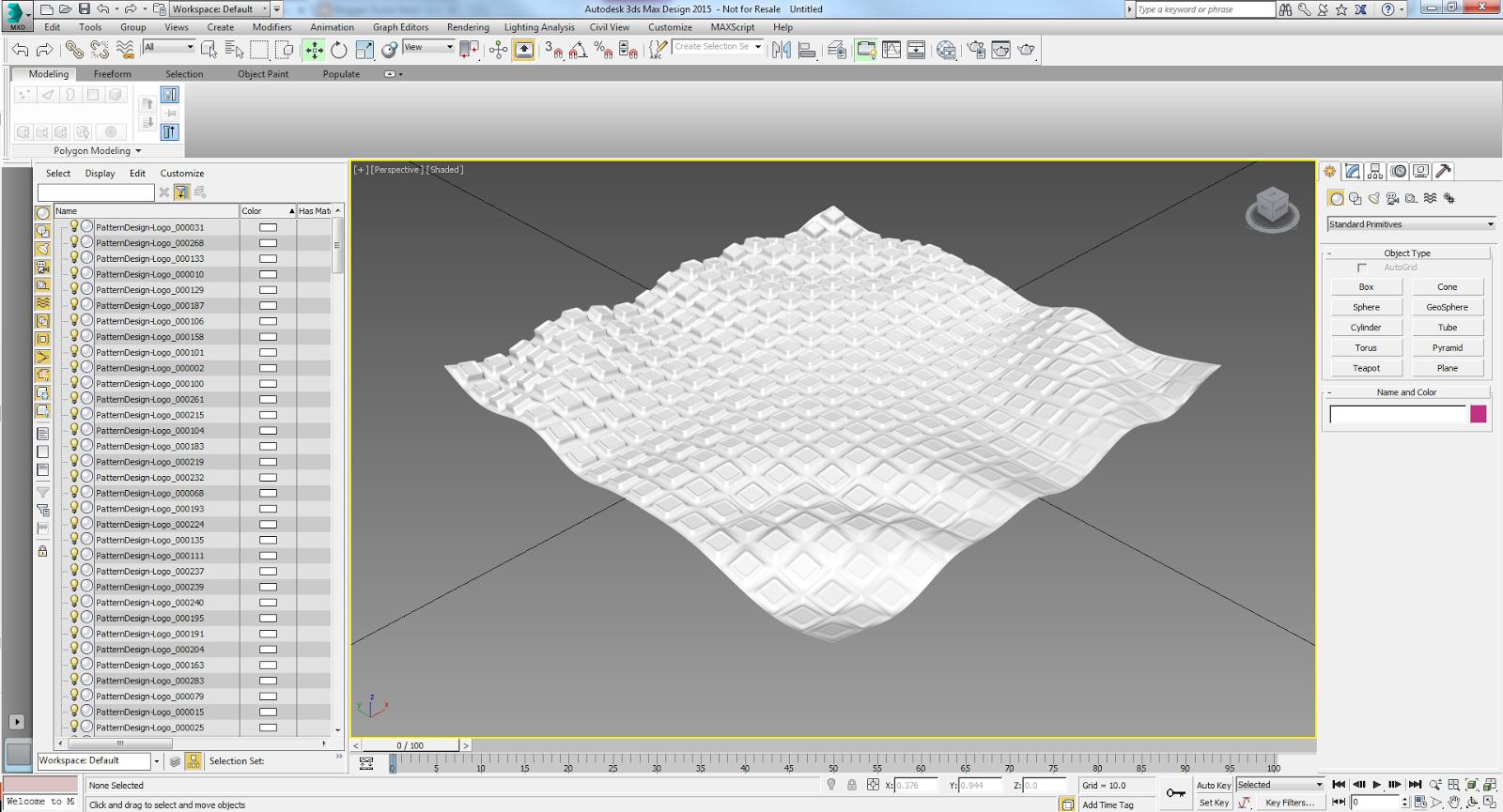 Punto Revit: Dynamo for pattern design