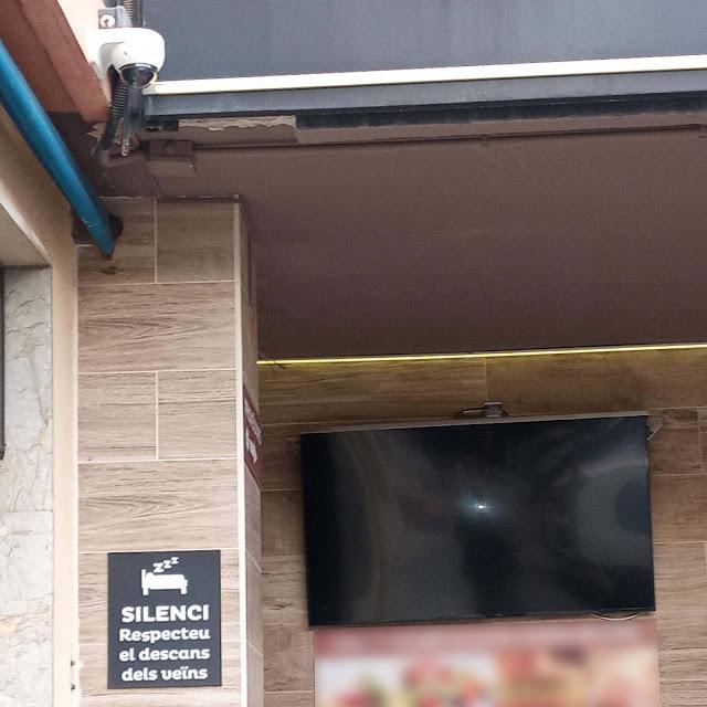 Càmera de seguretat del Red Bar de Vilanova i la Geltrú