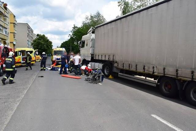 Kerékpárost gázolt egy kamion Tótkomlóson