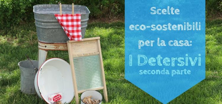 Scelte eco-sostenibili per la casa: I Detersivi - parte seconda