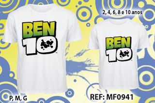 Tal Pai Tal Filho Camisetas Personalizadas Ben 10