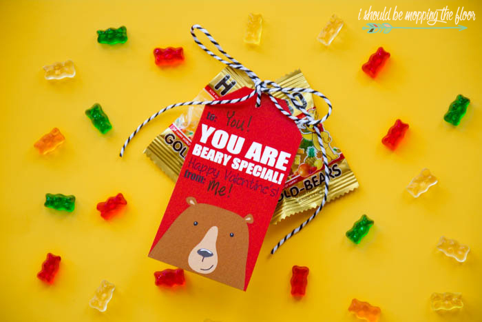 Free Beary Special Valentine Printable