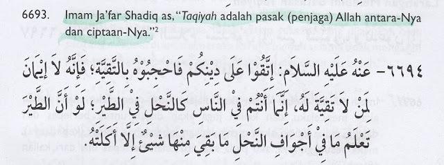 Aqidah Sesat Syiah: Orang Beriman itu Bertaqiyah