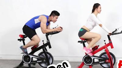 Đạp xe đạp thể dục