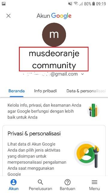 Cara Mengubah Nama Email Gmail Di Hp Semoga Awet