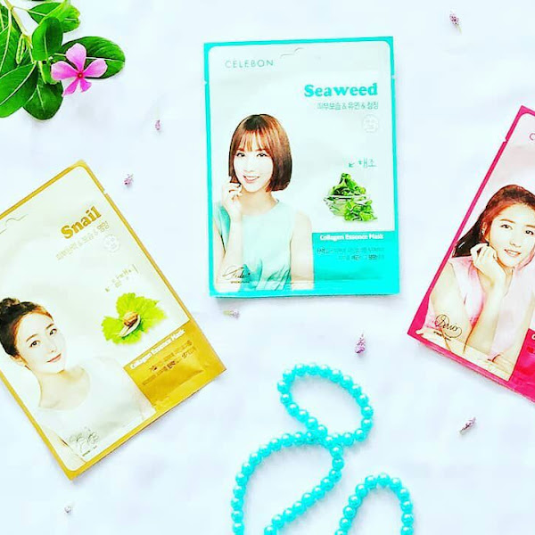 REVIEW 3 VARIAN CELEBON COLLAGEN ESSENCE MASK