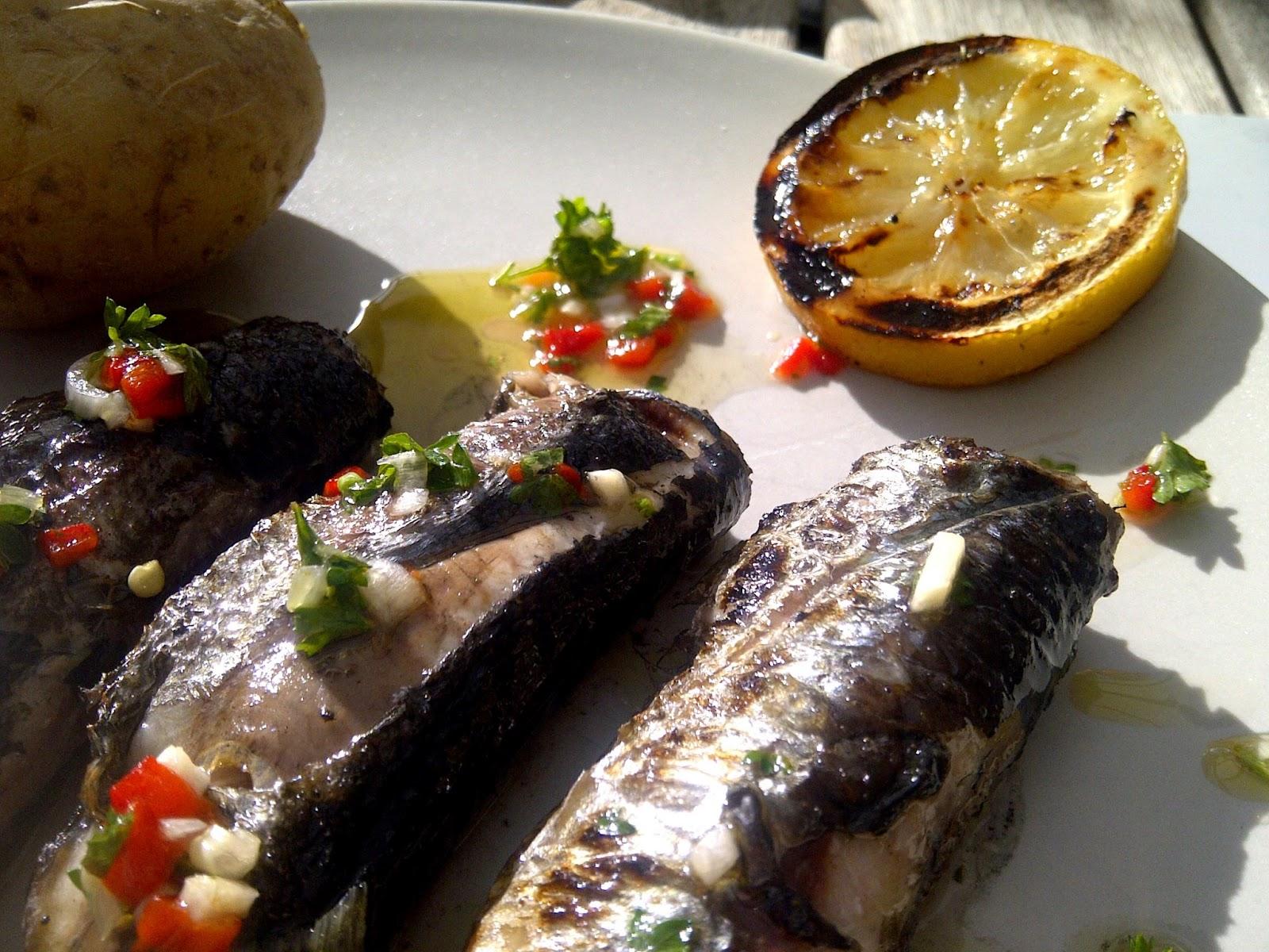 sardines bbq barbecue
