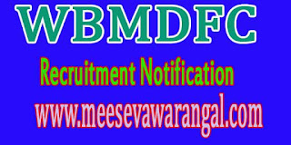 WBMDFC (West Bengal Minorities Development and Finance Corporation) Recruitment Notification 2016