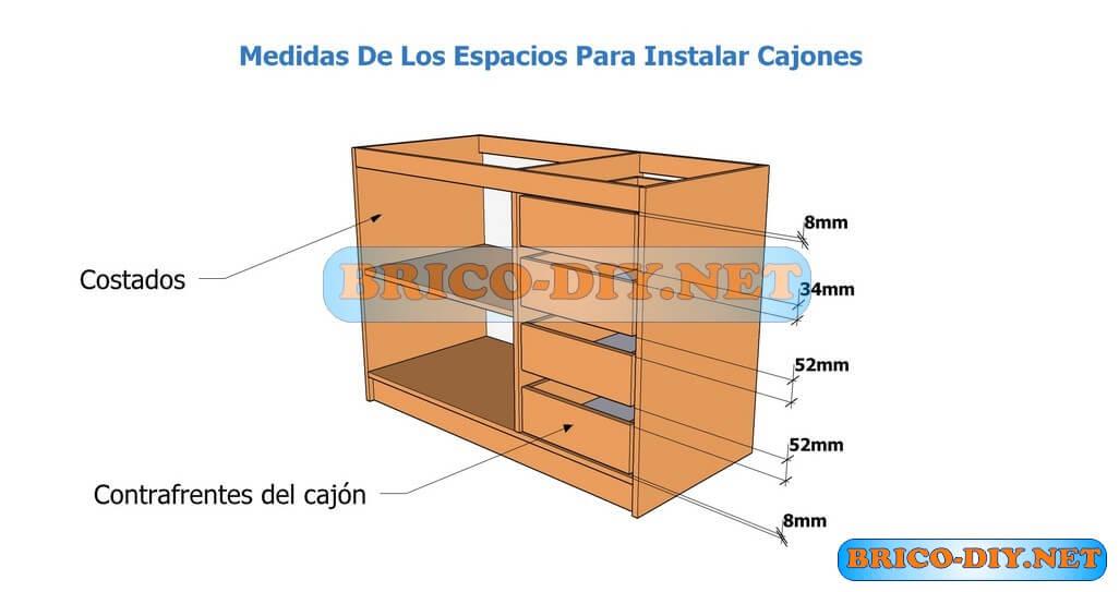 Muebles de cocina bajo mesada hazlo t mismo brico muebles for Medidas muebles bajos cocina
