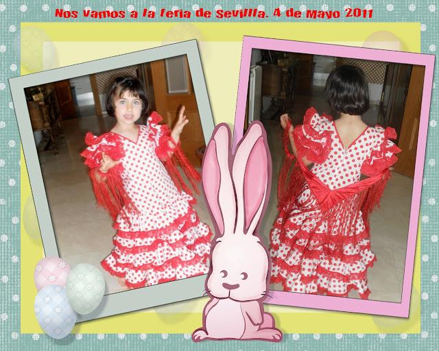 disfraz casero, flamenca, sevillana