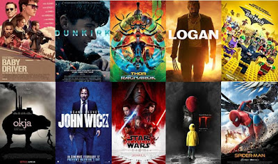 2017 Top Ten Movies