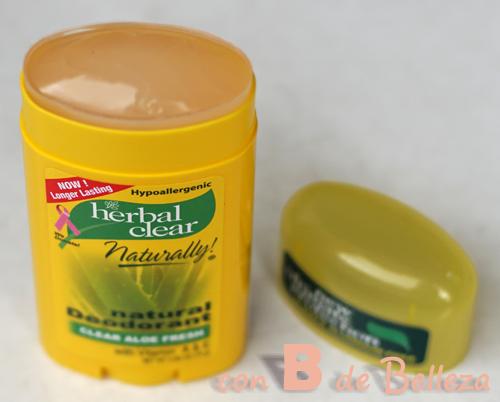 Desodorante herbal
