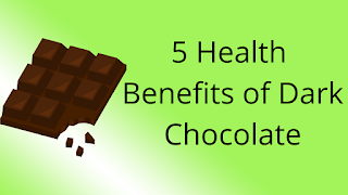 5 Health Benefits of Dark Chocolate
