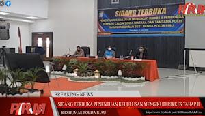 804 Calon Siswa Bintara/Tamtama TA 2021 Polda Riau Lolos ke Tahap Pemeriksaan Kesehatan II