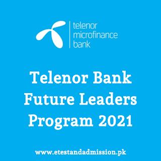 telenor bank future leaders program 2021