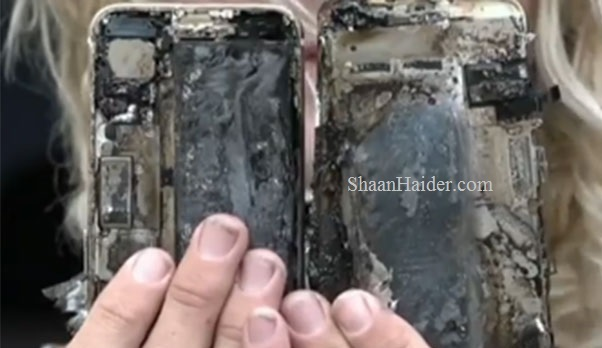 Apple iPhone 7 catches fire and explodes in a car in Australia