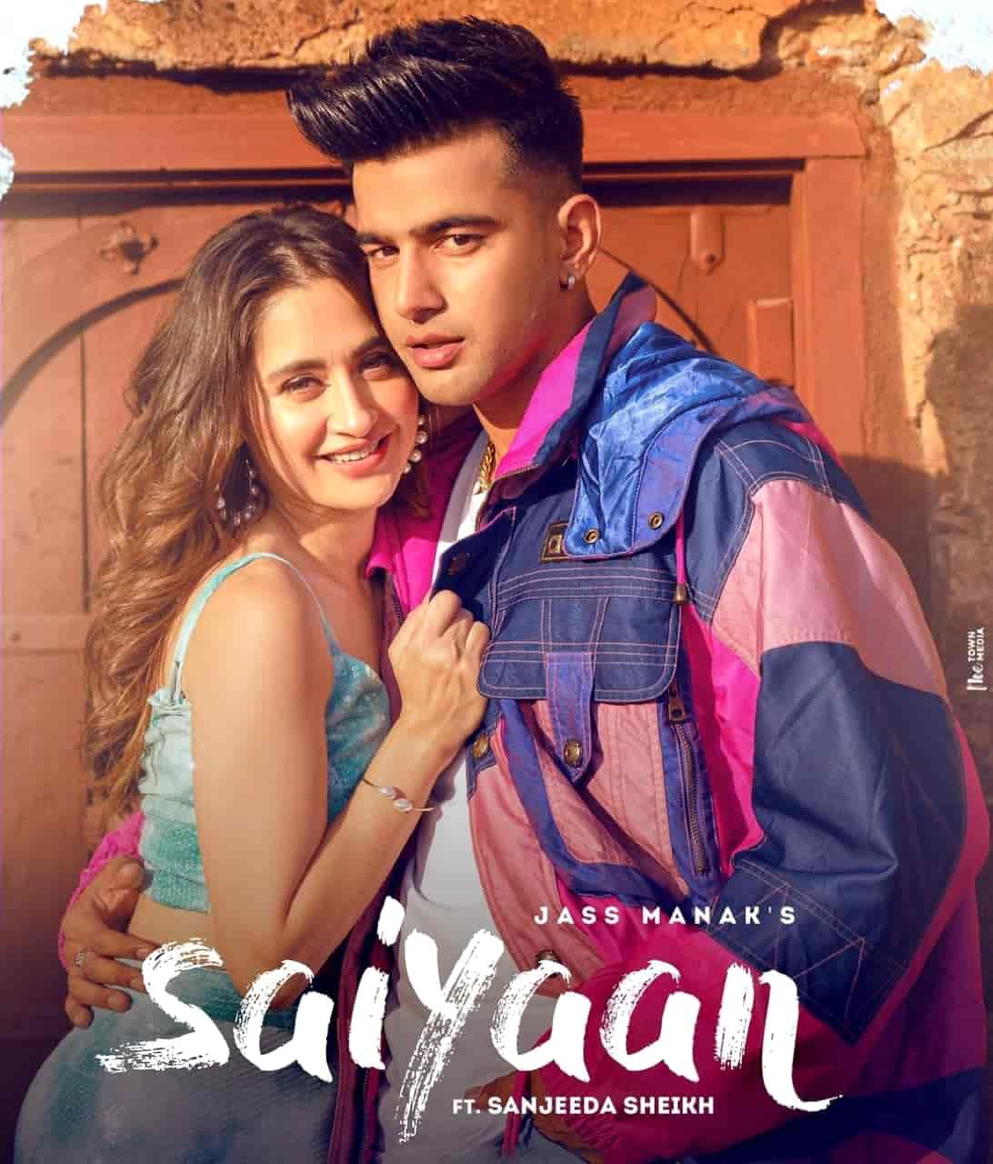 Saiyan Punjabi Song Image Features Jass Manak