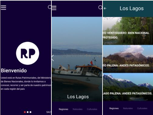 App Rutas Patrimoniales