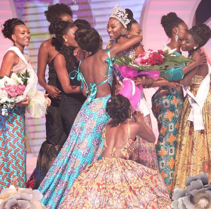 Photos: Ruth Quashie wins 2017 Miss Universe Ghana
