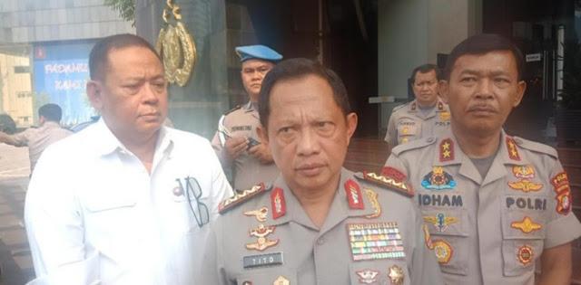 Kapolri: Penyerang Polsek Wonokromo Anggap Polisi Thogut dan Kafir