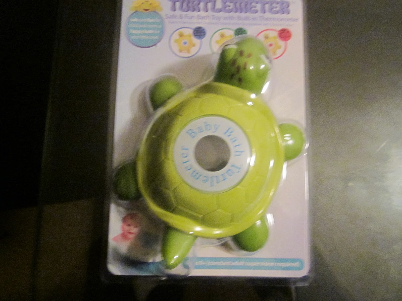 Turtlemeter The Baby Bath Floating Turtle Toy And Bath