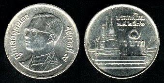 Thailand 1 Baht (1986-1997)